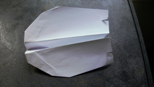 The Skunk: A Fancy Acrobatic Paper Airplane.