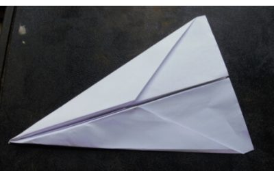 The Basic Dart: a fast, easy to make paper airplane