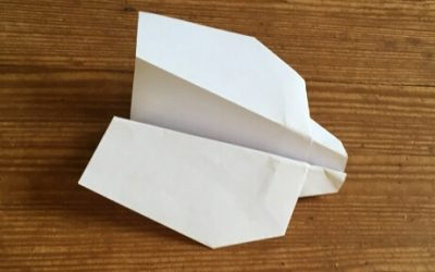 The Bandit: A Fun Acrobatic Paper Airplane