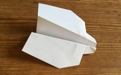 The Bandit: A Fun Acrobatic Paper Airplane