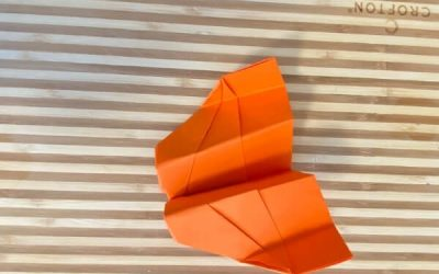 The Fox: A Fun Acrobatic Paper Airplane