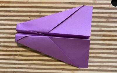 The Shark: A Simple Glider Paper Airplane